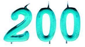 200 entradas