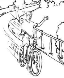 Ciclista sin miedo