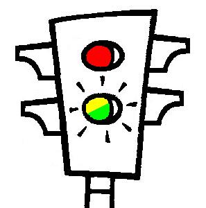 Colores del semáforo