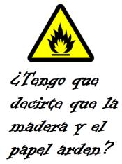 Peligro incendio