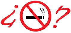 ¿Prohibido fumar?