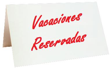Vacaciones Reservadas