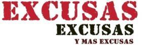 Excusas dentro